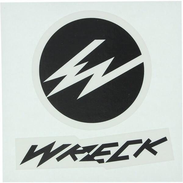 Wreck Wheels Stack Skate Sticker