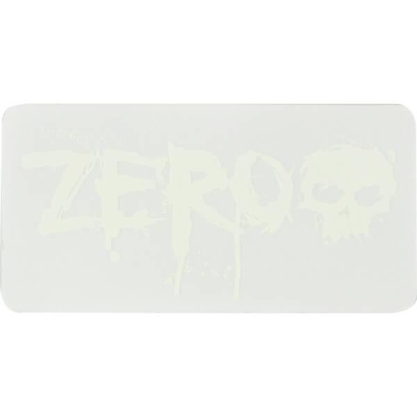 Zero Skateboards Blood Clear Skate Sticker