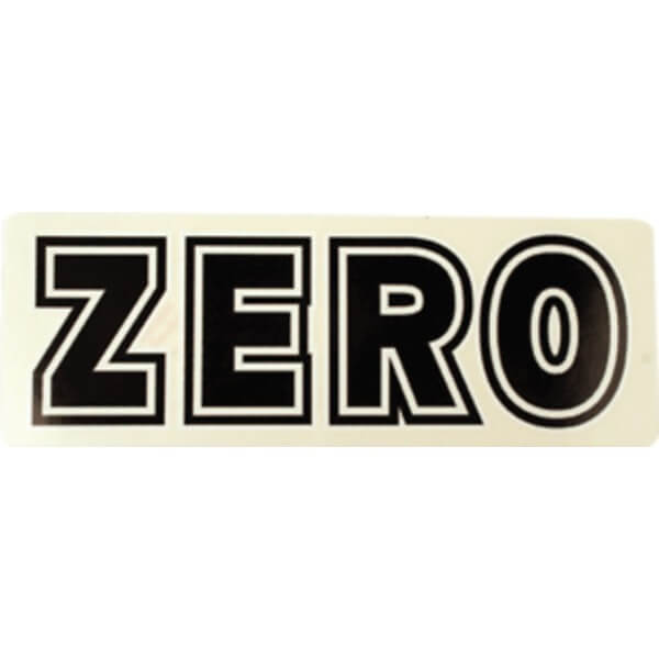 Zero Blood Sticker