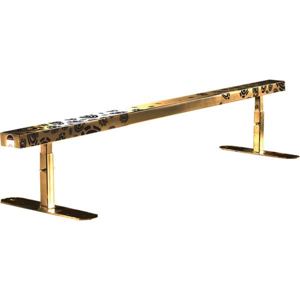 Element Skateboards Make Rain Gold Skateboard Rail Flatbar