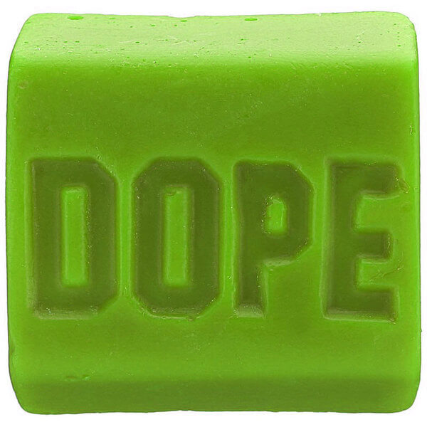 Dope Skate Wax Lime Green Original Formula Skatewax Bar