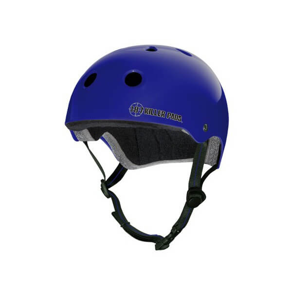 "187 Killer Pads Pro Royal Blue Skate Helmet - Medium / 21.4"" - 22"""