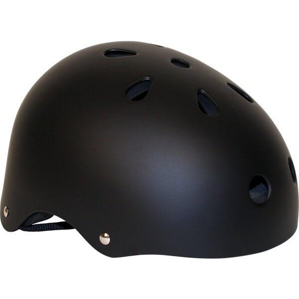 Industrial Flat Black Helmet