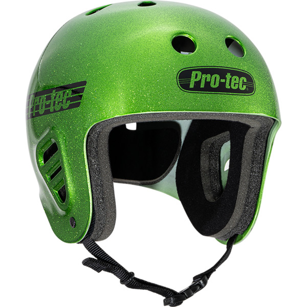 "ProTec Full Cut Candy Green Full Cut Skate Helmet - X-Small / 20.5"" - 21.3"""