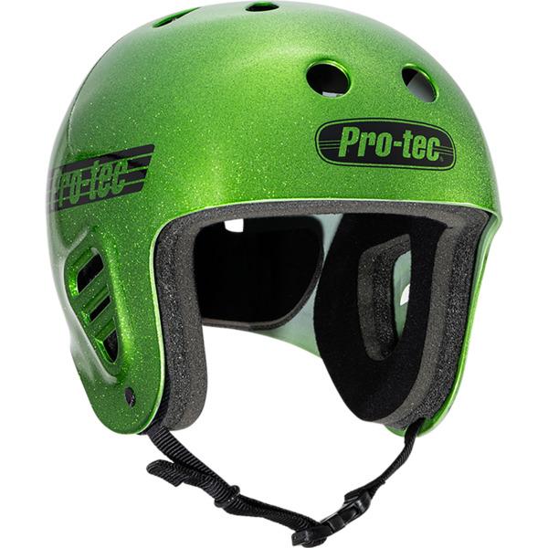 """ProTec Full Cut Candy Green Full Cut Skate Helmet - Medium / 22"""" - 22.8"""""""