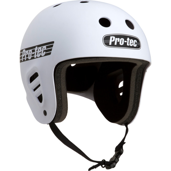 "ProTec Full Cut Classic Matte White Full Cut Skate Helmet - X-Large / 23.6"" - 24.4"""