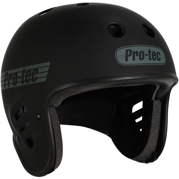 "ProTec Full Cut Skate Matte Black Full Cut Skate Helmet - X-Large / 23.6"" - 24.4"""