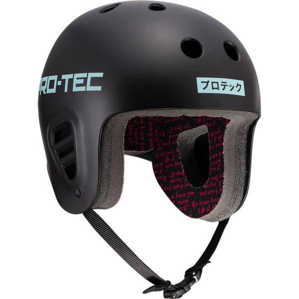 "ProTec Sky Brown Full Cut Black / Light Blue Full Cut Skate Helmet - X-Small / 20.5"" - 21.3"""