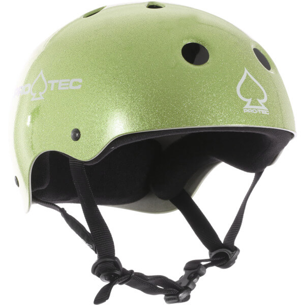 "ProTec Classic Green Flake Skate Helmet - X-Large / 23.6"" - 24.4"""