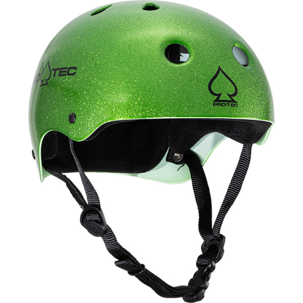 "ProTec Classic Candy Green Flake Skate Helmet - X-Large / 23.6"" - 24.4"""