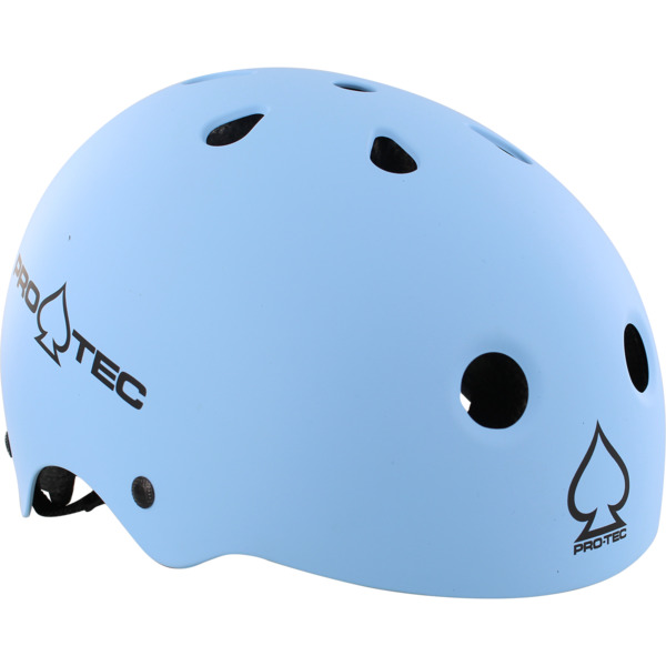 "ProTec Classic CPSC Matte Light Blue Skate Helmet - (Certified) - Medium / 22"" - 22.8"""
