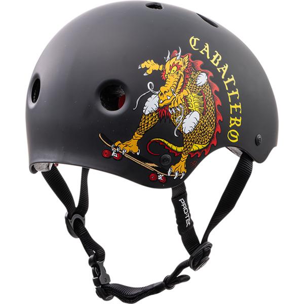 "ProTec Steve Caballero Classic Black / Red Skate Helmet CPSC Certified - X-Large / 23.6"" - 24.4"""