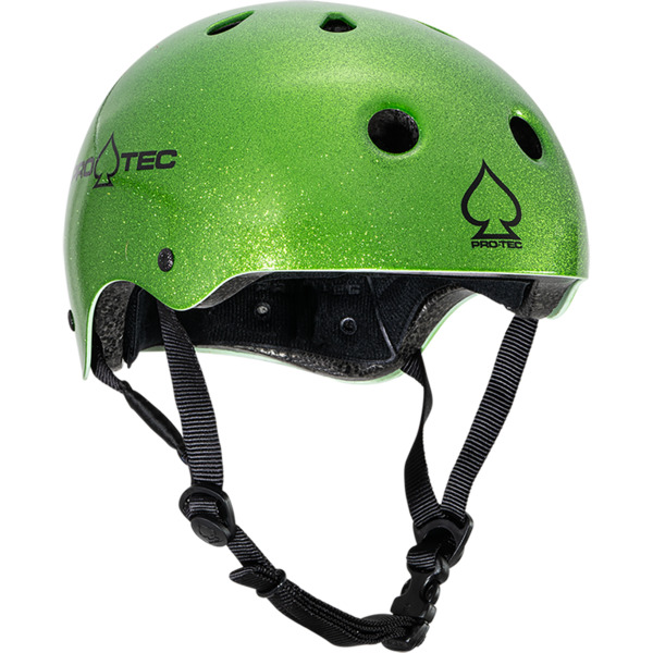"ProTec Classic Candy Green Skate Helmet CPSC Certified - Large / 22.8"" - 23.6"""