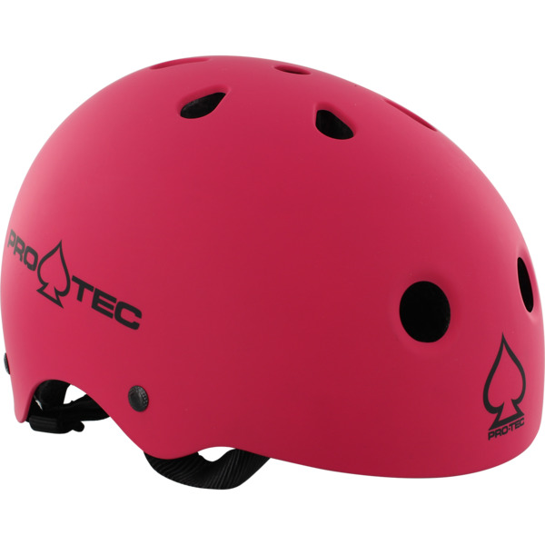 """ProTec Classic CPSC Matte Pink Skate Helmet CPSC Certified - (Certified) - X-Large / 23.6"""" - 24.4"""""""