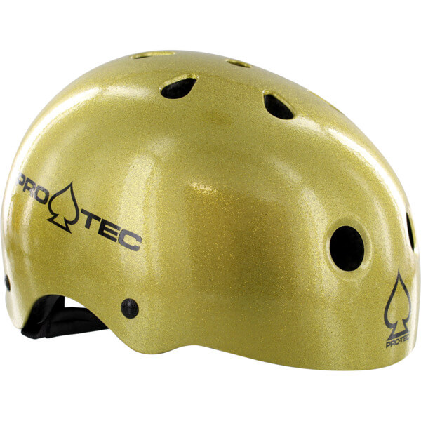 """ProTec Classic CPSC Gold Flake Skate Helmet CPSC Certified - (Certified) - X-Large / 23.6"""" - 24.4"""""""