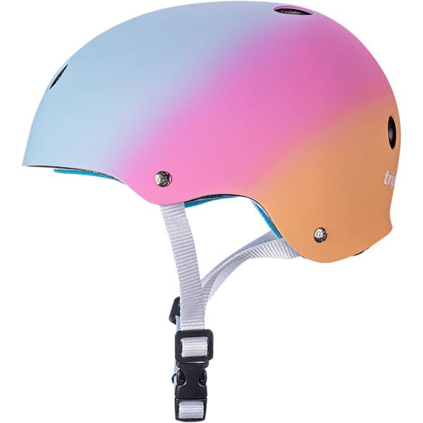 """Triple 8 Certified Sweatsaver Sunset Skate Helmet CPSC Certified - (Certified) - L/XL 22.5"""" - 23.5"""""""