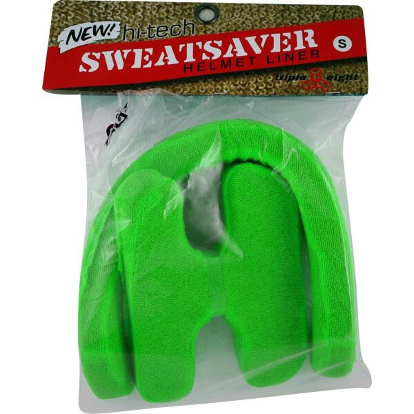 """Triple 8 Sweatsaver Green Skateboard Helmet Liners - Large / 22.1"""" - 22.9"""""""