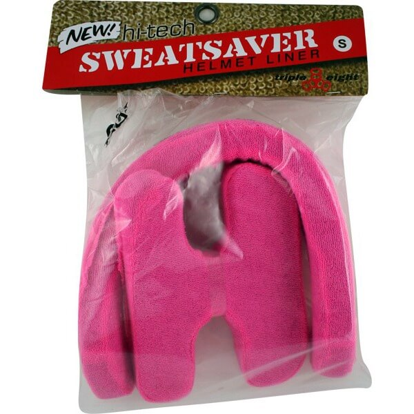 "Triple 8 Sweatsaver Pink Skateboard Helmet Liners - Junior / 20.1"" - 20.5"""