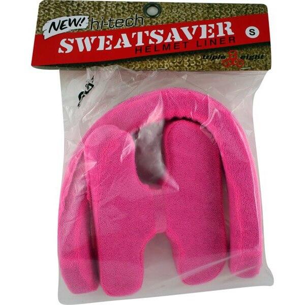 """Triple 8 Sweatsaver Pink Skateboard Helmet Liners - Small / 20.6"""" - 21.3"""""""