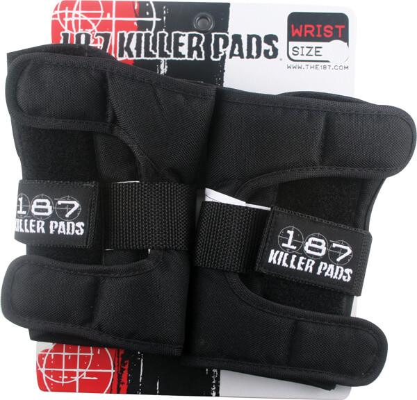 187 Killer Pads Black Wrist Guard - Junior