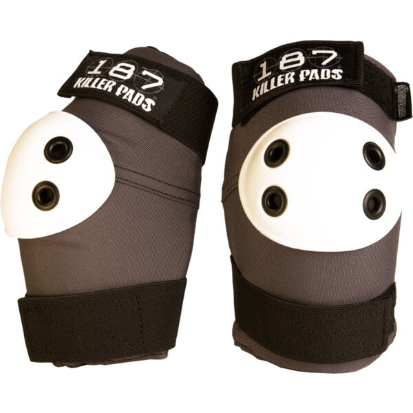 187 Killer Pads Standard Dark Grey Elbow Pads - Small