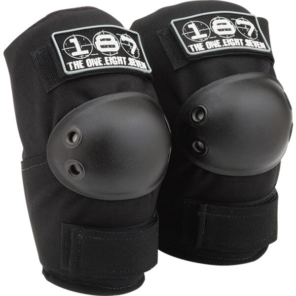 187 Killer Pads Standard Black Elbow Pads - XX-Large