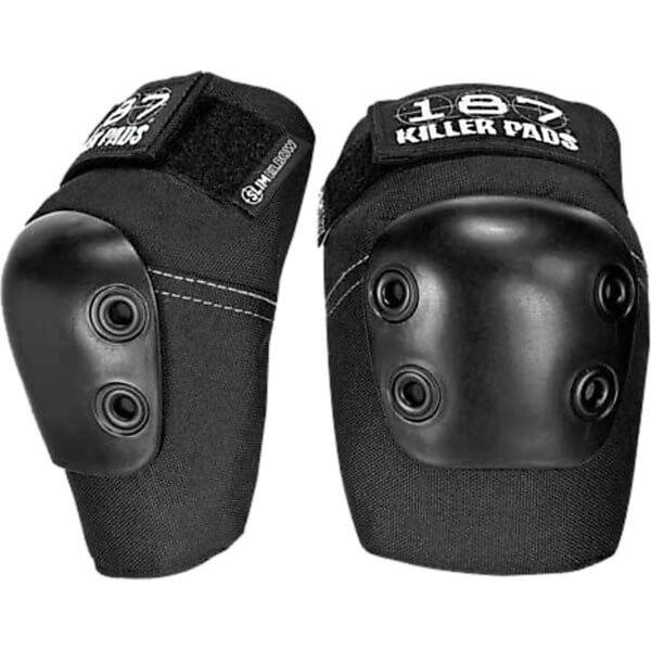 187 Killer Pads Slim Black Elbow Pads - X-Small