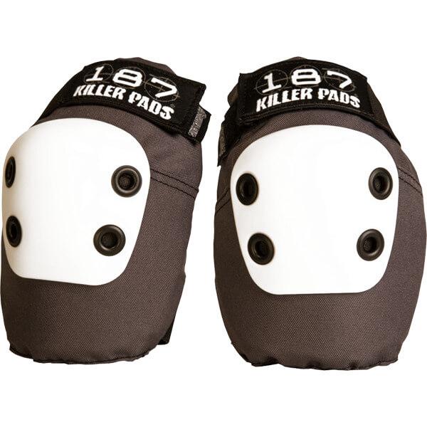 187 Killer Pads Slim Dark Grey Elbow Pads - Small