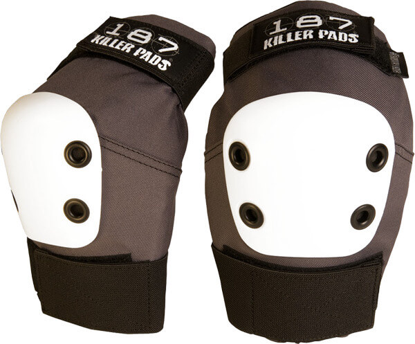 187 Killer Pads Pro Dark Grey Elbow Pads - Small