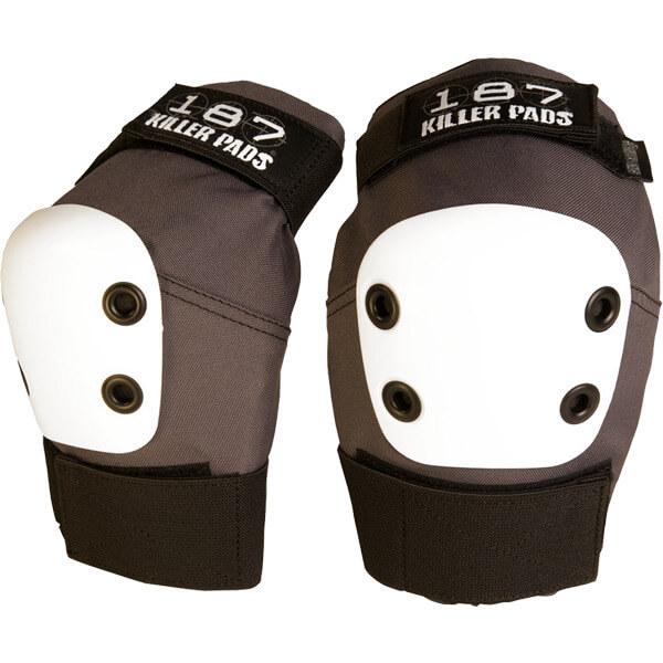 187 Killer Pads Pro Dark Grey Elbow Pads - Large
