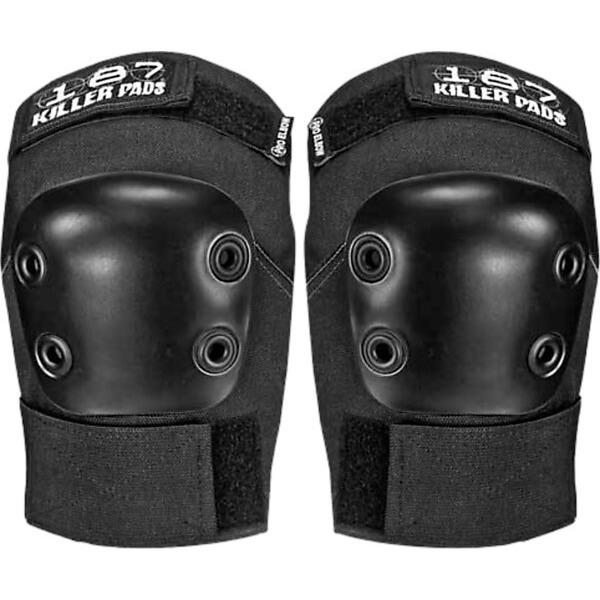 187 Killer Pads Pro Black Elbow Pads - Large