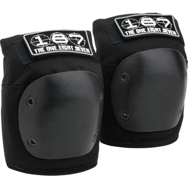 187 Killer Pads Fly Black Knee Pads - X-Small