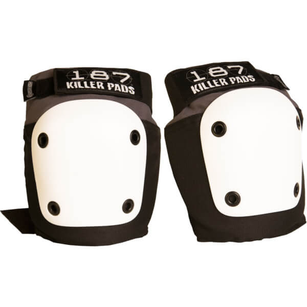 187 Killer Pads Fly Grey / Black Knee Pads - Small