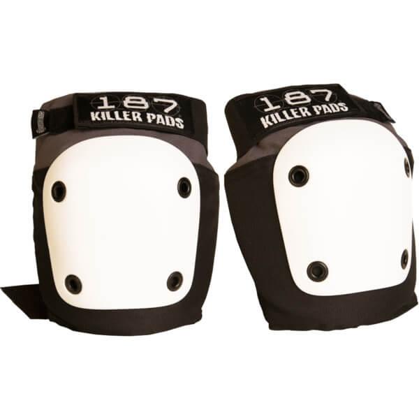 187 Killer Pads Fly Grey / Black Knee Pads - Medium