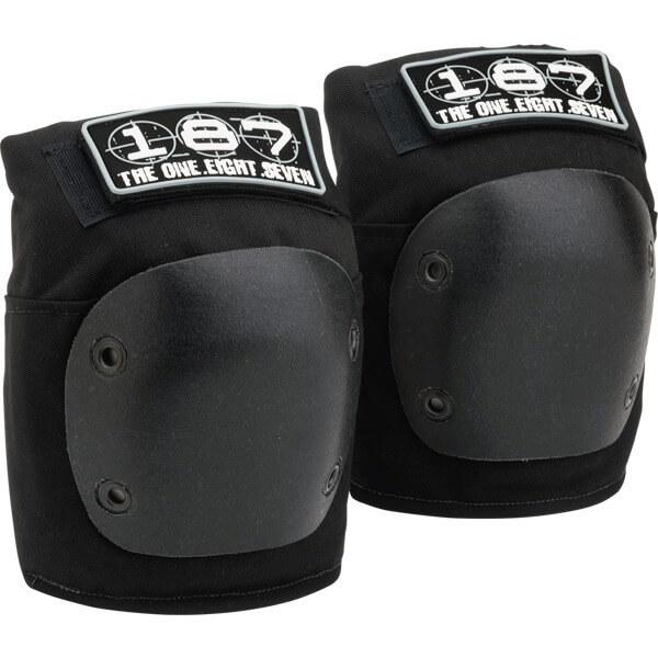 187 Killer Pads Fly Black Knee Pads - X-Large
