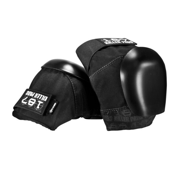 187 Killer Pads Pro Black Knee Pads - Small