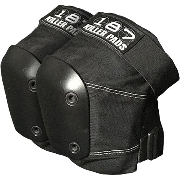 187 Killer Pads Slim Black Knee Pads - X-Large