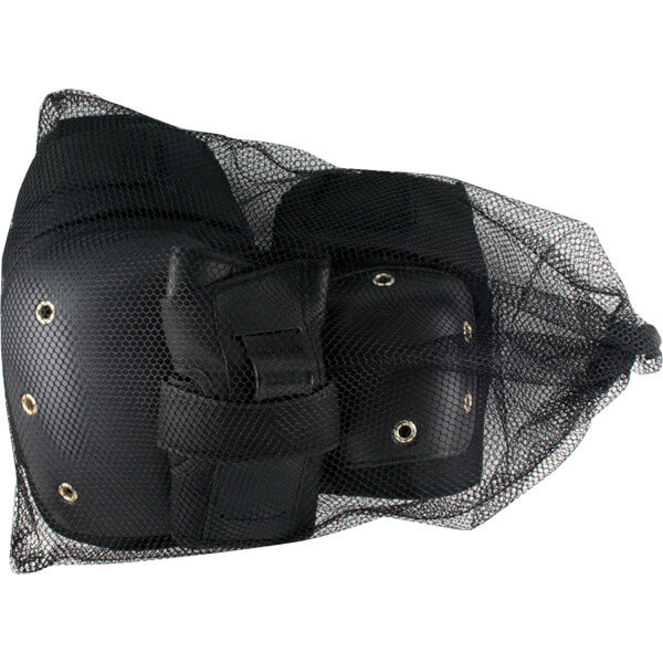 Essentials Street Black Knee, Elbow, & Wrist Pad Set - Small