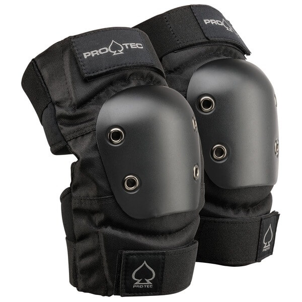 ProTec Street Black Elbow Pads - Small