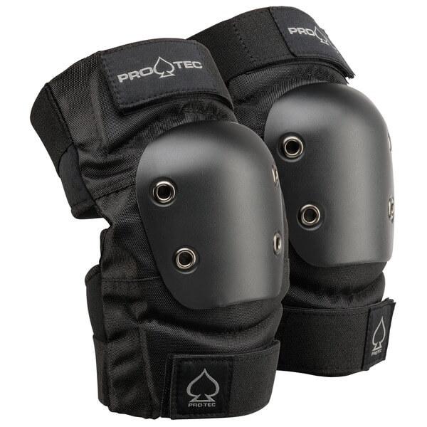 ProTec Street Black Elbow Pads - Large