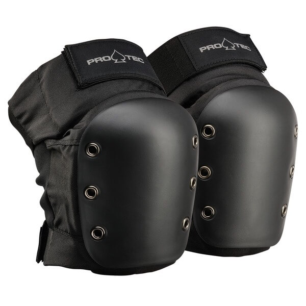 ProTec Street Black Knee Pads - Youth