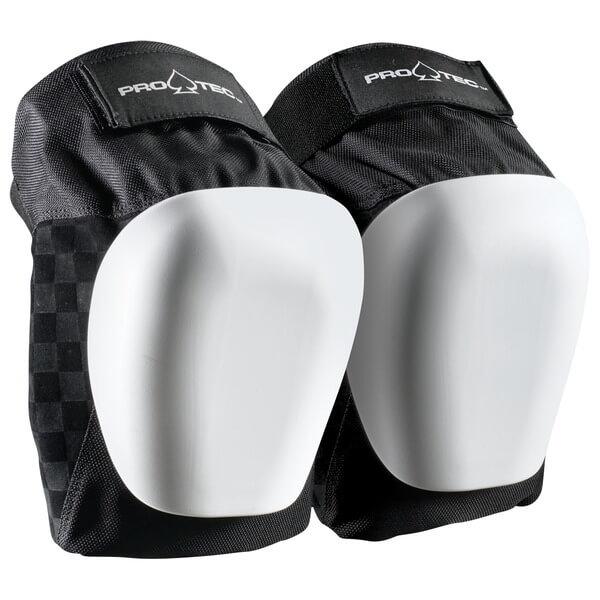 ProTec Drop In Black / White Knee Pads - Small / Medium