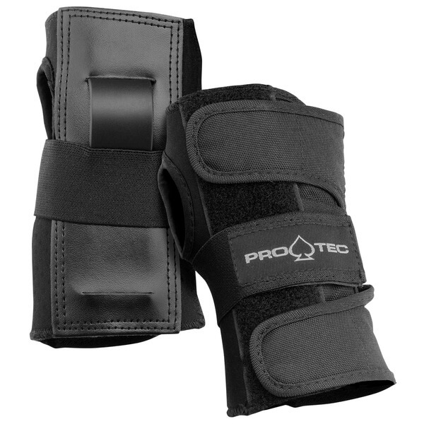 ProTec Street Black Wrist Guards - Medium