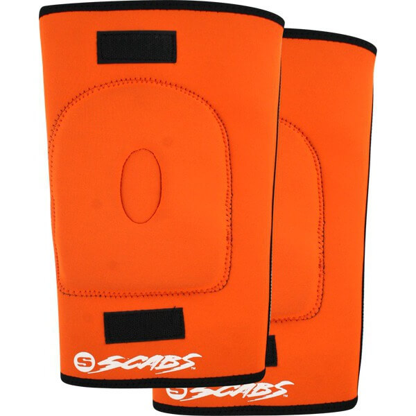 Smith Safety Gear Scabs Orange Knee Gaskets - Small