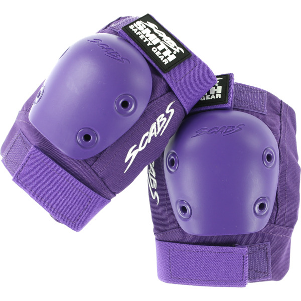 Smith Safety Gear Scabs Junior Purple Elbow Pads - Small / Medium