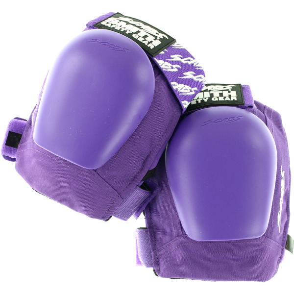 Smith Safety Gear Scabs Junior Purple Knee Pads - Large / X-Large