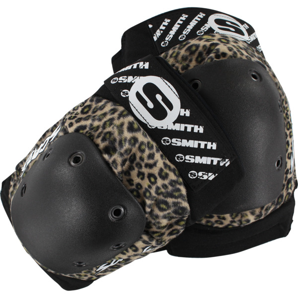 Smith Safety Gear Scabs Elite Leopard Knee Pads - X-Small
