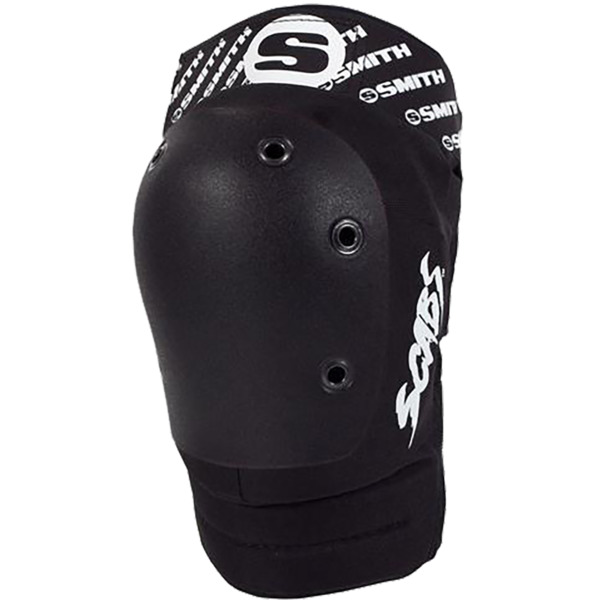 Smith Safety Gear Scabs Elite Black / Black Knee Pads - Small / Medium