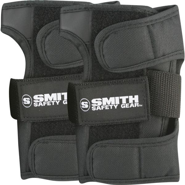 Smith Safety Gear Black Wrist Guards - Medium