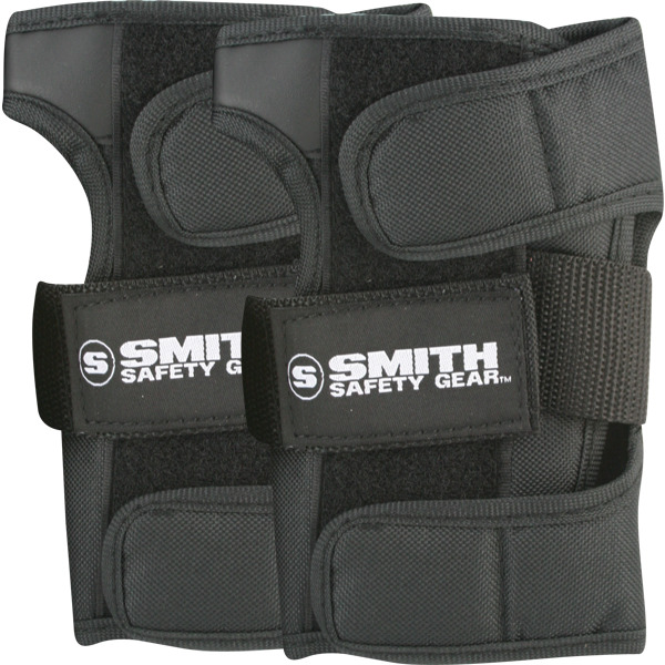 Smith Safety Gear Black Wrist Guards - Large